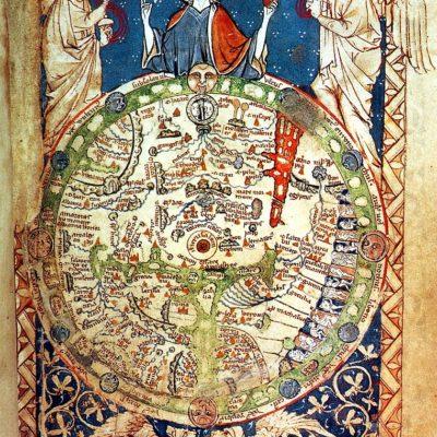 ロンドン詩篇の世界図