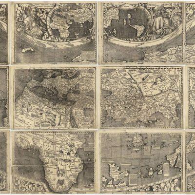 マルティン・ヴァルトゼーミュラーの世界地図