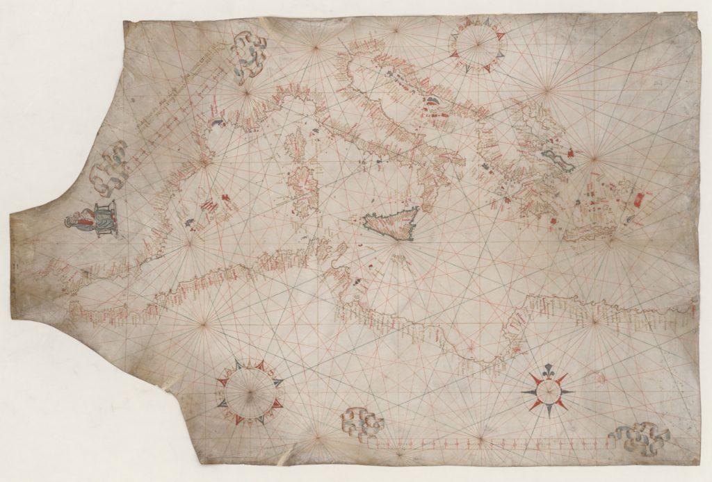 ポルトラーノ型海図