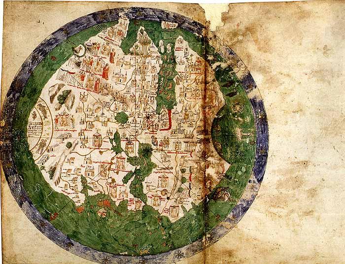 アンドレア・ビアンコの世界地図