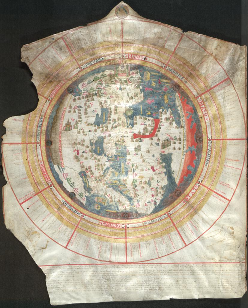 ジョバンニ・レアルドの世界地図