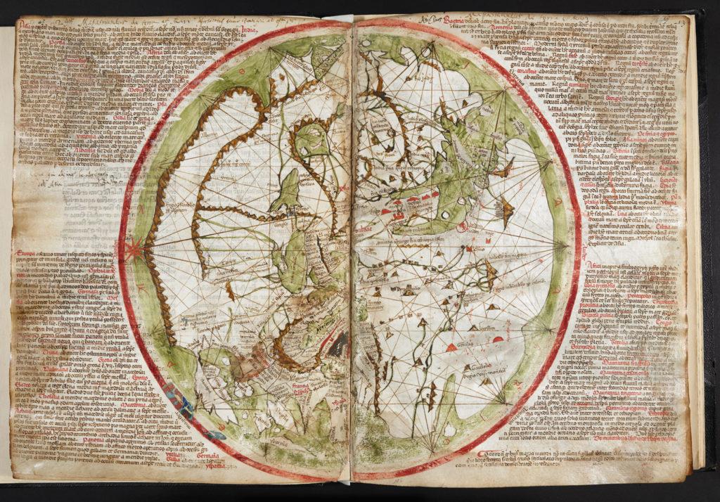 ピエトロ・ベスコンテの世界地図