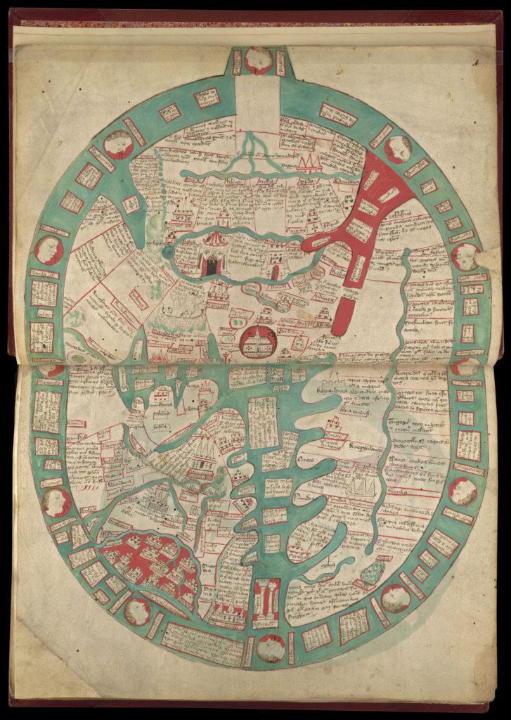 ラナルフ・ヒグデンの世界地図