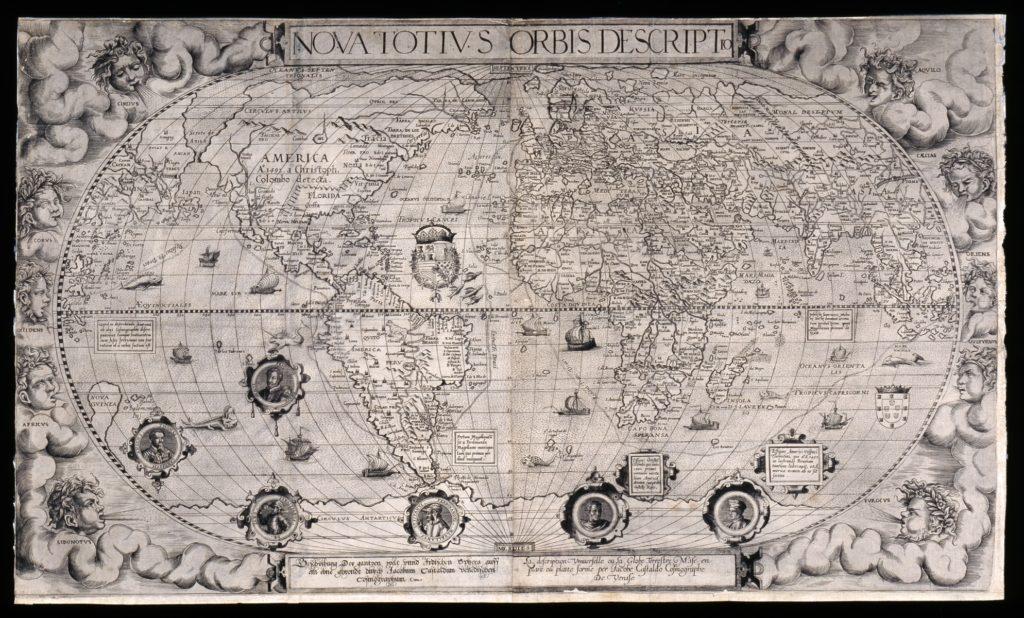 ジャコモ・ガスタルディの世界地図