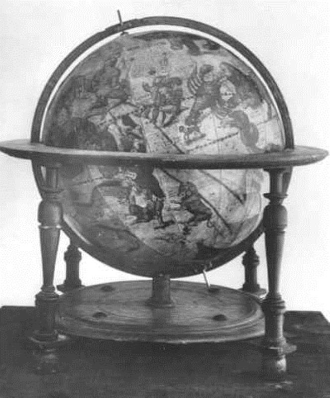ヨドクス・ホンディウスの天球儀