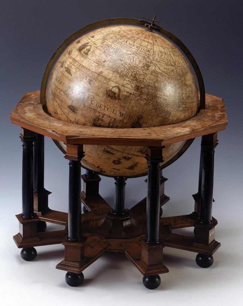 ヨドクス・ホンディウスの地球儀1