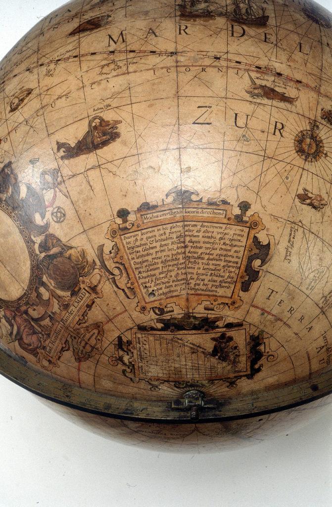 ヨドクス・ホンディウスの地球儀2