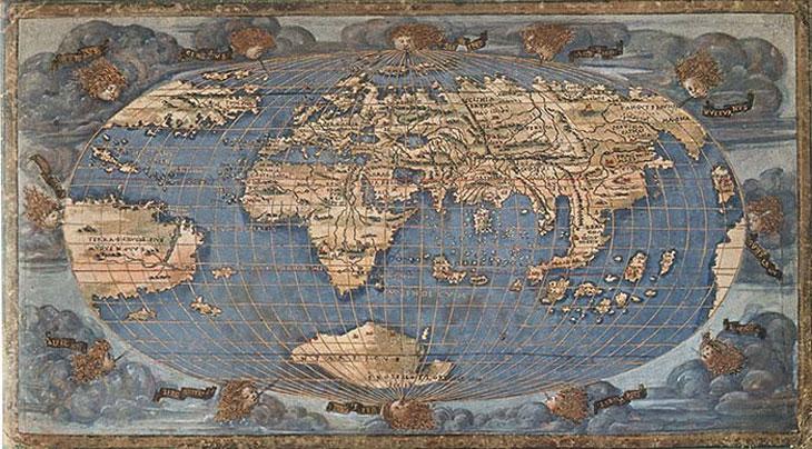 フランチェスコ・ロッセッリの世界地図