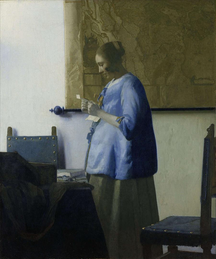 『青衣の女』
