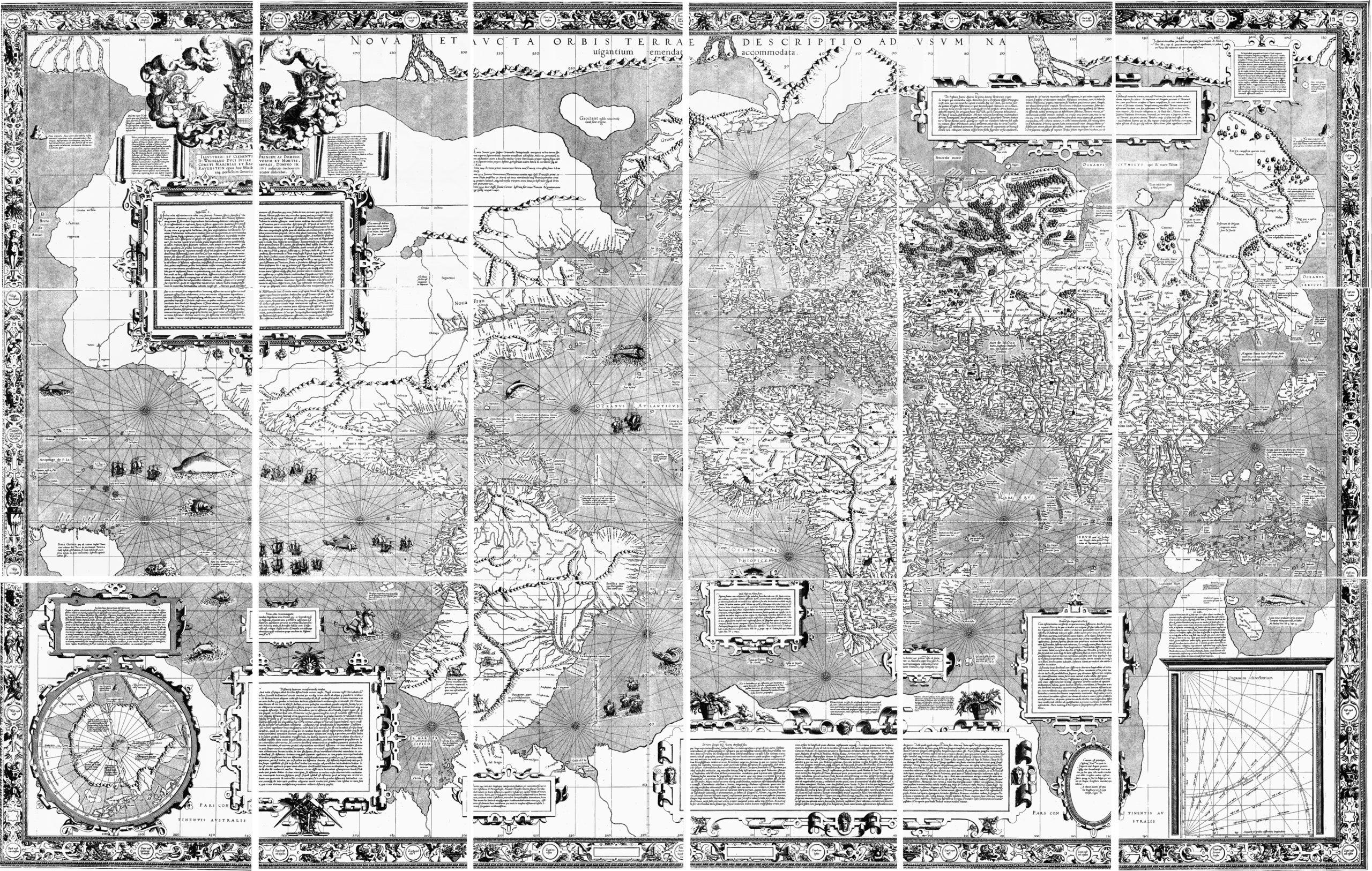 ゲラルドゥス・メルカトルの世界地図