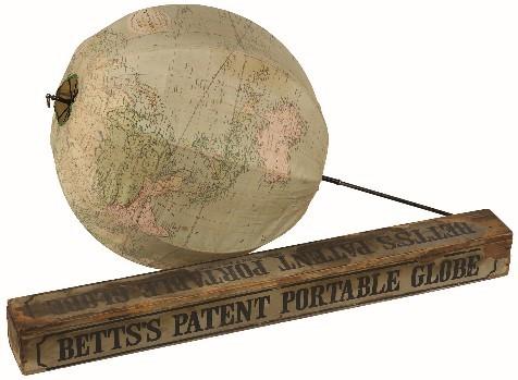 ポータブル地球儀