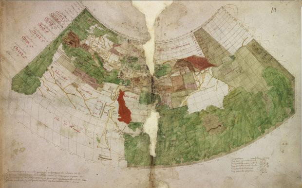 アンドレア・ビアンコのプトレマイオス図