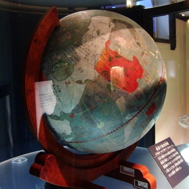 渋川春海の地球儀