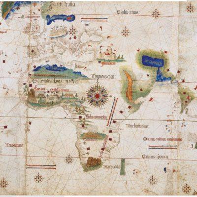 カンティーノの世界地図