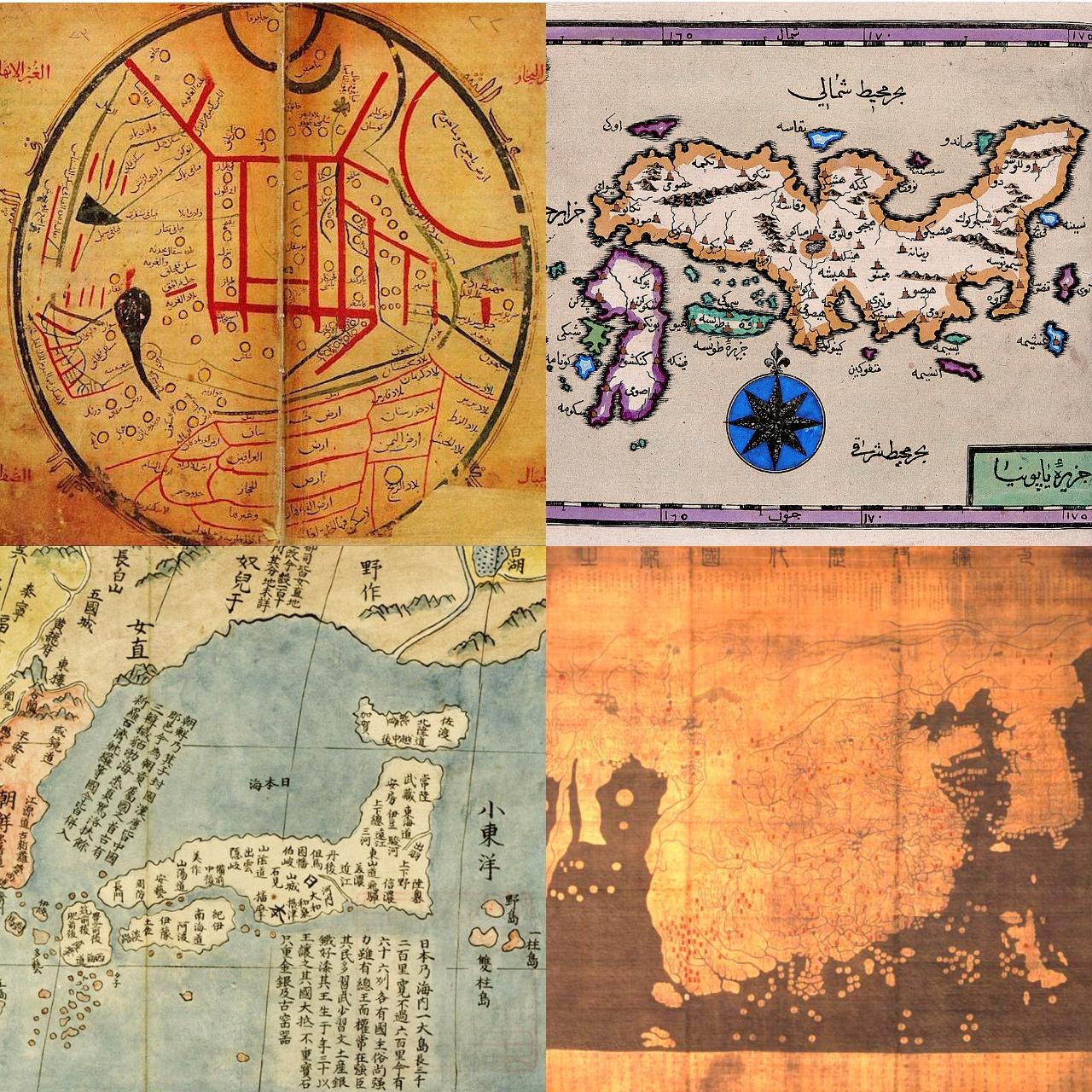 世界の古地図の中の日本①