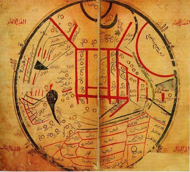 マフムード・カーシュガリーの世界地図