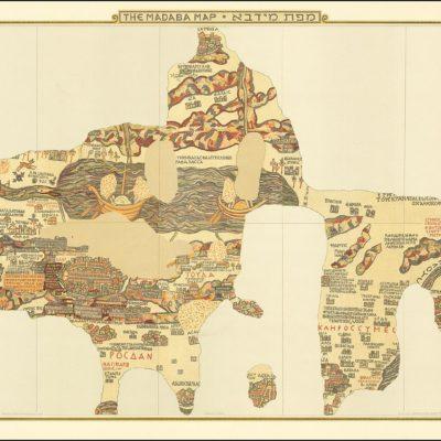 マダバのモザイク地図