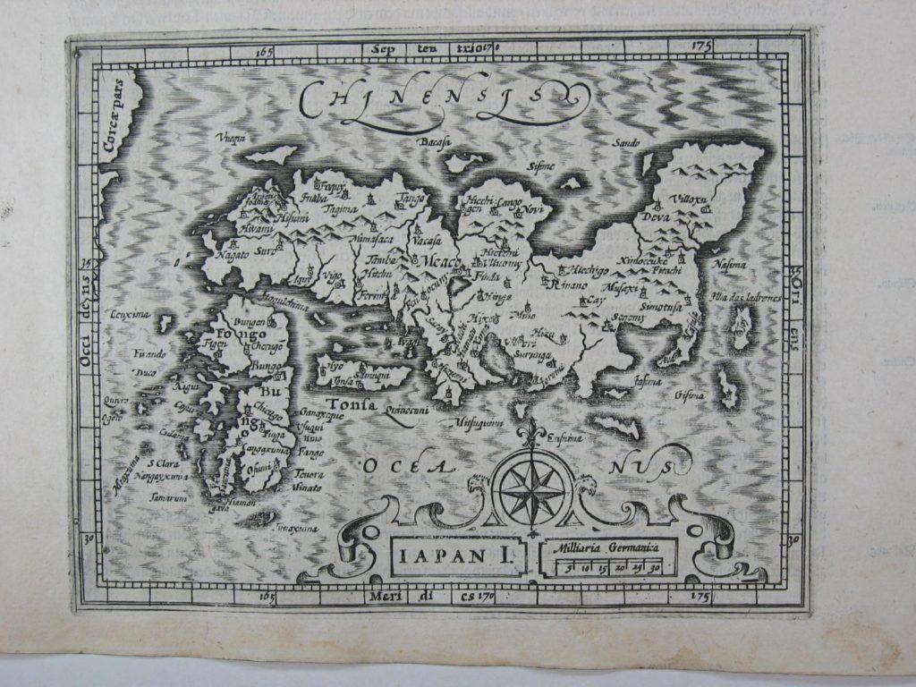 メルカトル・ホンディウス『アトラス』日本地図