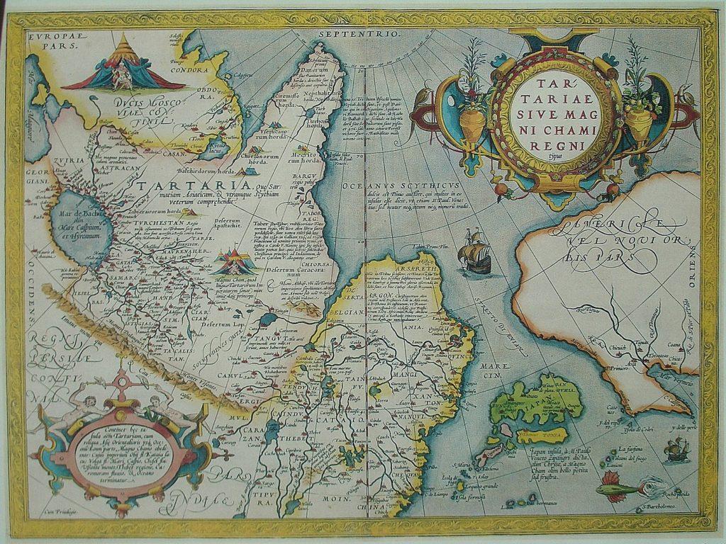 『世界の舞台』タルタリア図