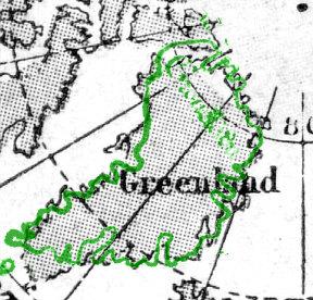 ヴィンランド地図 グリーンランド