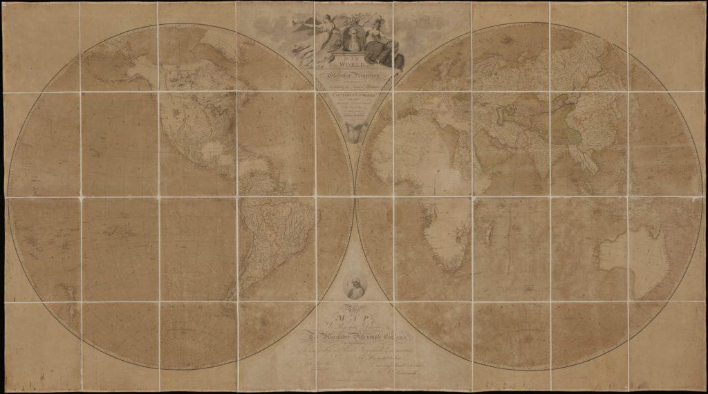 アーロン・アロースミスの地図