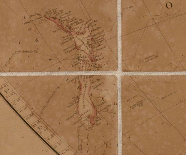 アロースミスの地図 クックの航路