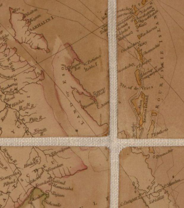 アロースミスの地図 蝦夷