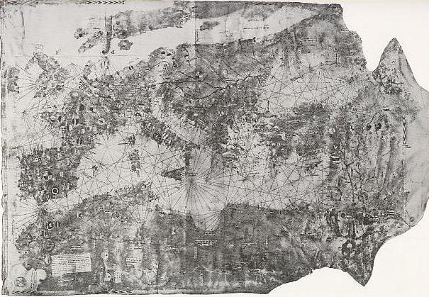 ジョヴァンニ・ダ・カリニャーノの地図