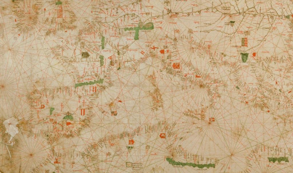アンジェリーノ・ドゥルサートの地図(1325年)