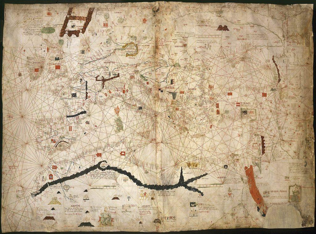 アンジェリーノ・ドゥルサートの地図(1339年)