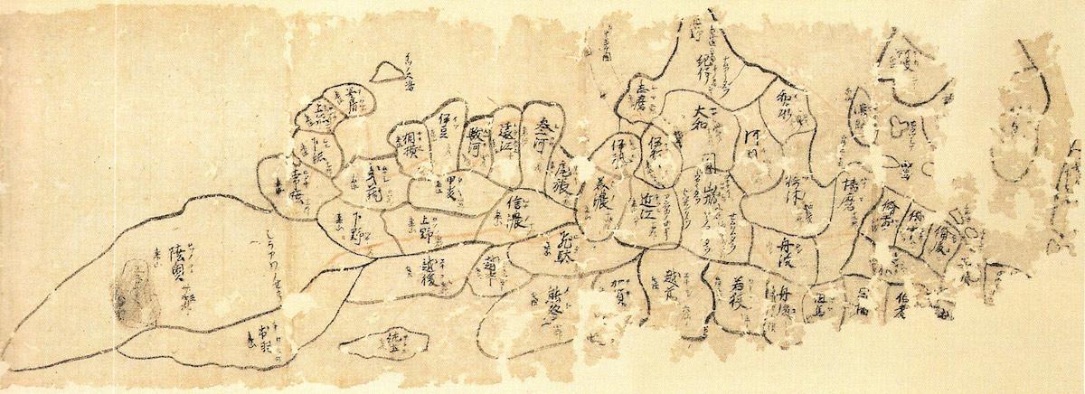 仁和寺所蔵日本図