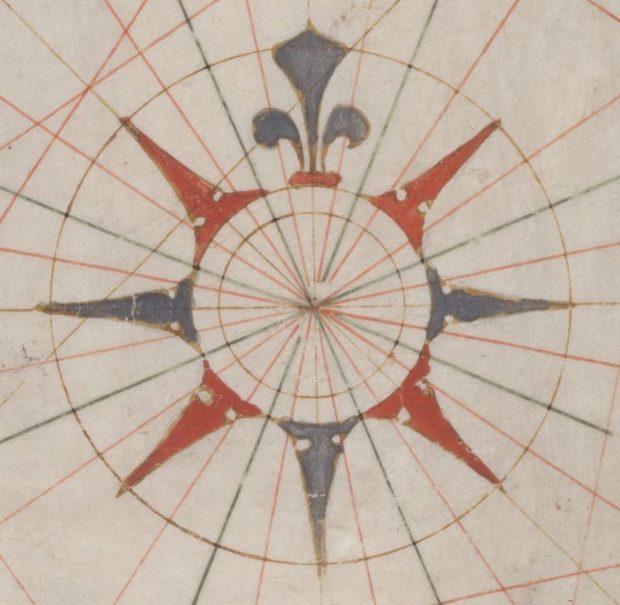 羅針図と航程線
