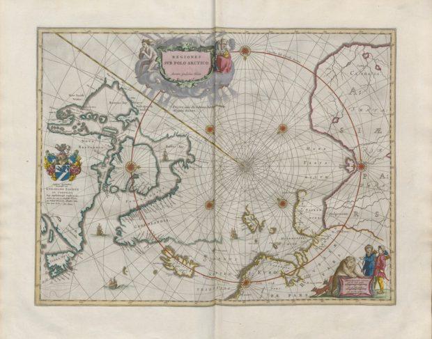 大地図帳 北極