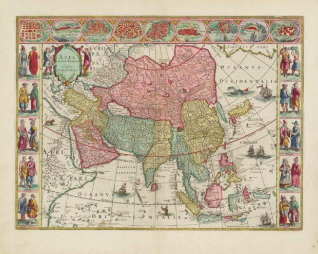 大地図帳 アジア